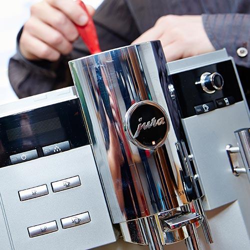 Reparatur Kaffeemaschine