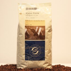 Kaffee Braun Wiener Crema