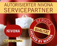 Espressoladen ist autorisierter Nivona Servicepartner